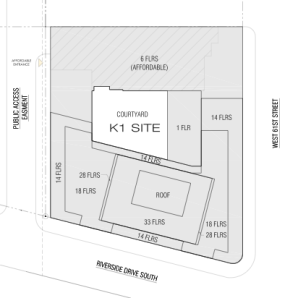 West Side Rag: Site Plan
